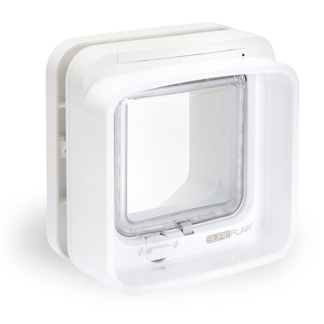 SureFlap Dualscan Microchip Cat Flap, White - Carousel image #1