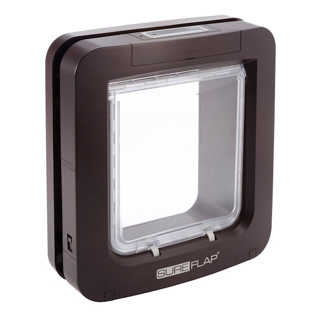 SureFlap Microchip Pet Door, Brown - Carousel image #1