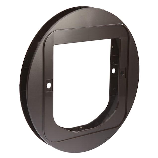 "SureFlap Cat Flap Mounting Adapter, Brown, 0.75"" L X 12.6"" W X 14.6"" H - Carousel image #1"