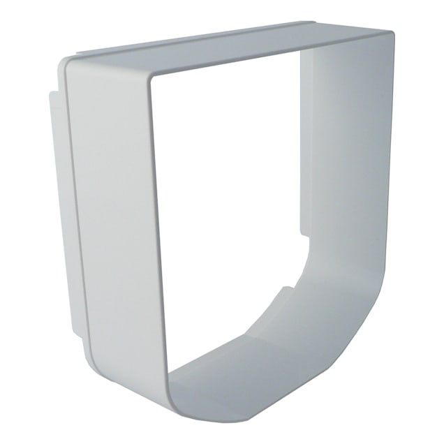 "SureFlap Cat Flap Tunnel Extender, White, 2.4"" L X 7.9"" W X 10.2"" H - Carousel image #1"