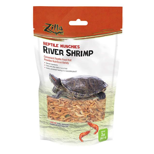 Zilla Munchies River Shrimp Reptile Food, 2 oz. - Carousel image #1