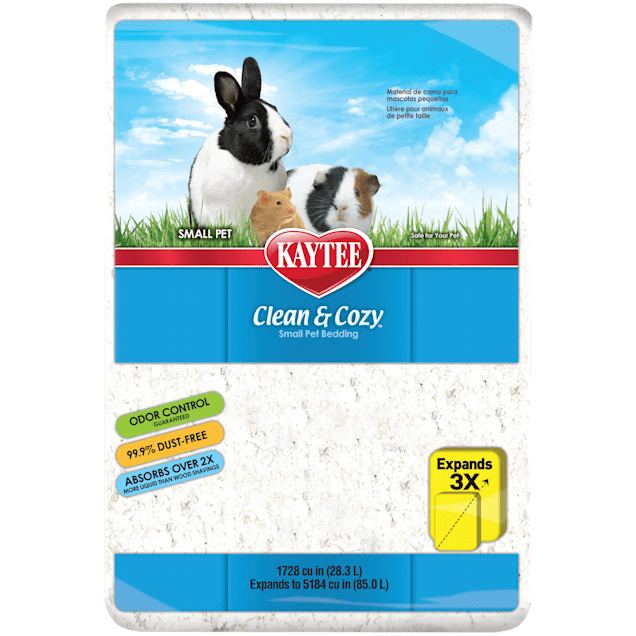 Kaytee Clean & Cozy Small Animal Bedding, 85 Liters (5184 cu. in.) - Carousel image #1