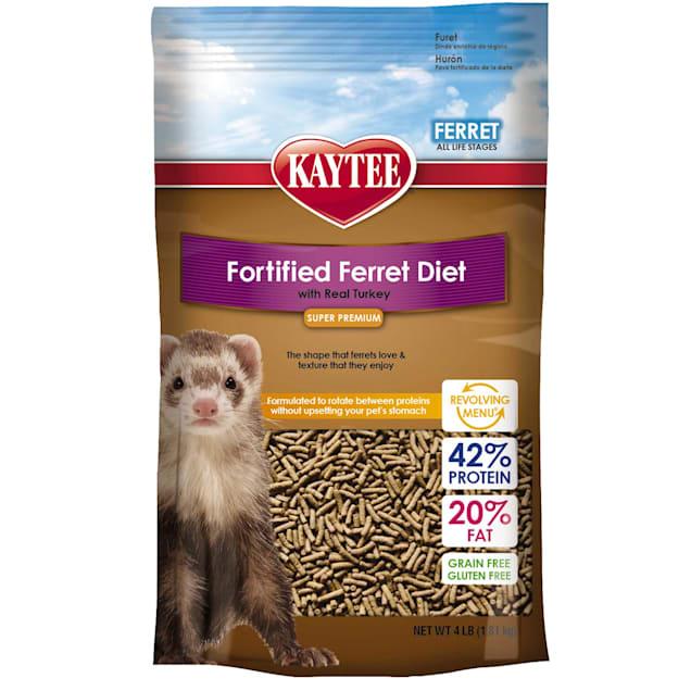 Kaytee Fortified Diet Turkey Ferret Food, 4 lbs. - Carousel image #1