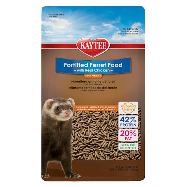 Kaytee Fortified Diet Chicken Ferret Food, 4 lbs. - Carousel image #1
