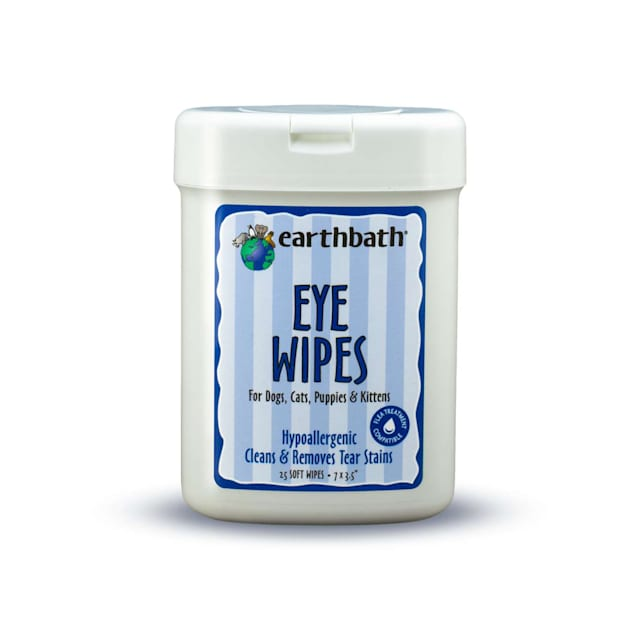 Earthbath Eye Wipes for Dogs, Count of 25 - Carousel image #1