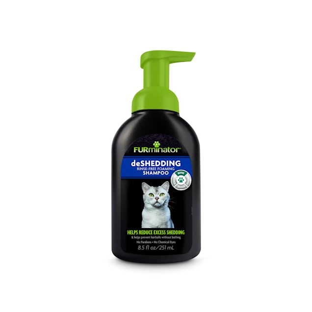 FURminator deShedding Rinse Free Foaming  Shampoo for Cats, 8.5 oz. - Carousel image #1