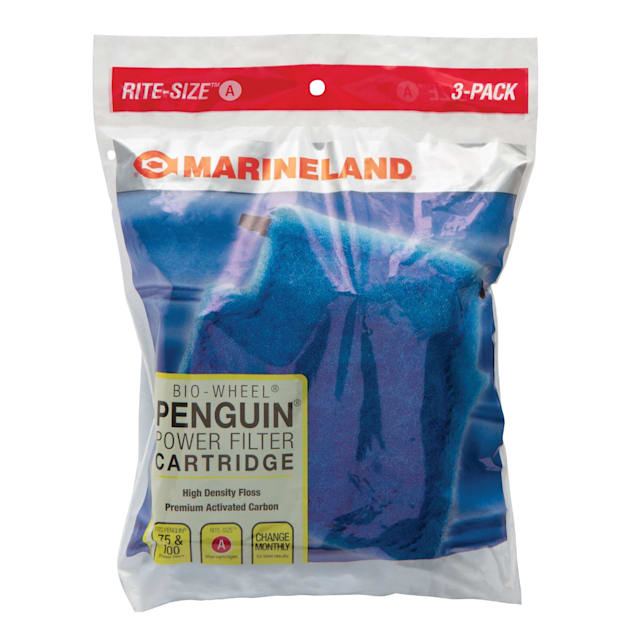 Marineland Rite-Size Bonded Filter Sleeve for Penguin Mini, Pack of 3 - Carousel image #1