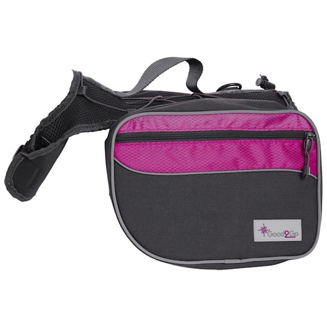 Good2Go Pink Dog Backpack, Medium - Carousel image #1