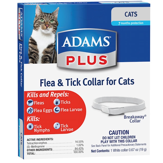Adams Plus Flea & Tick Collar for Cats - Carousel image #1