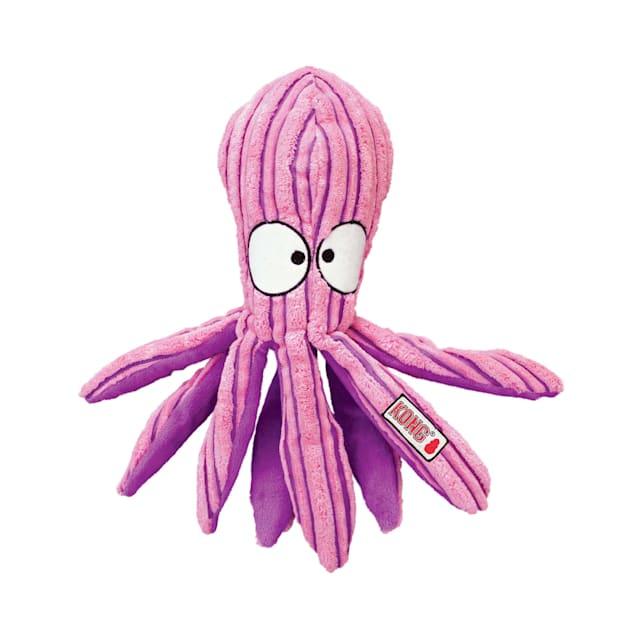 KONG Cute Seas Octopus Dog Toy, Medium - Carousel image #1