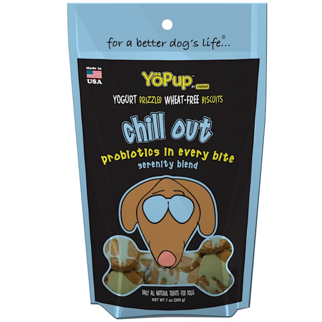 YoPup by Yoghund Chill Out Wheat Free Yogurt Drizzled Biscuits 7oz Bag - Carousel image #1