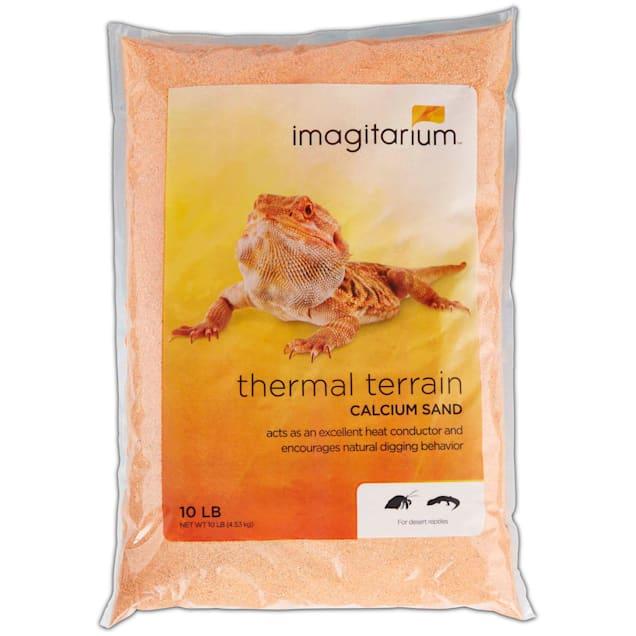 Imagitarium Orange Calcium Reptile Sand, 10lbs - Carousel image #1