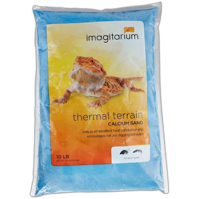Imagitarium Blue Calcium Reptile Sand, 10lbs - Carousel image #1