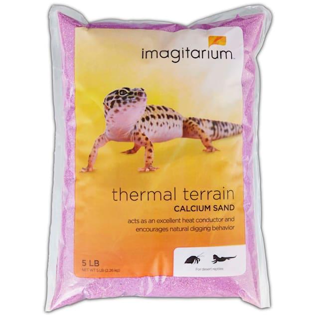 Imagitarium Purple Calcium Reptile Sand, 5lbs - Carousel image #1