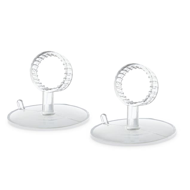 Imagitarium Clearly Concealing Suction Cups for Reptile Terrariums, 2 Pack - Carousel image #1