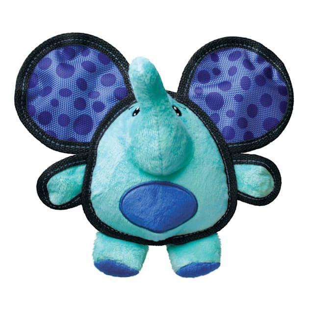 KONG Ballistic Ears Elephant Dog Toy, Medium - Carousel image #1