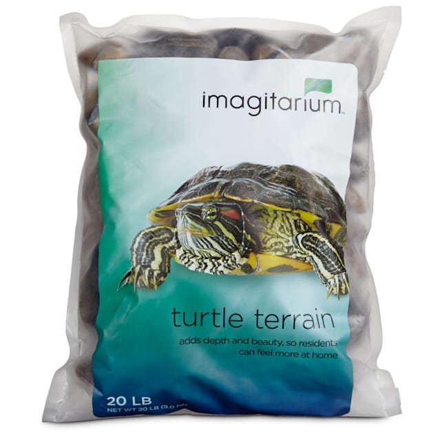 Imagitarium Turtle Terrain Tiger Stripe Rocks, 20 lbs. - Carousel image #1