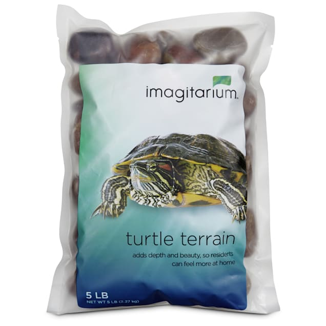 Imagitarium Turtle Terrain Red River Rocks, 5 lbs. - Carousel image #1