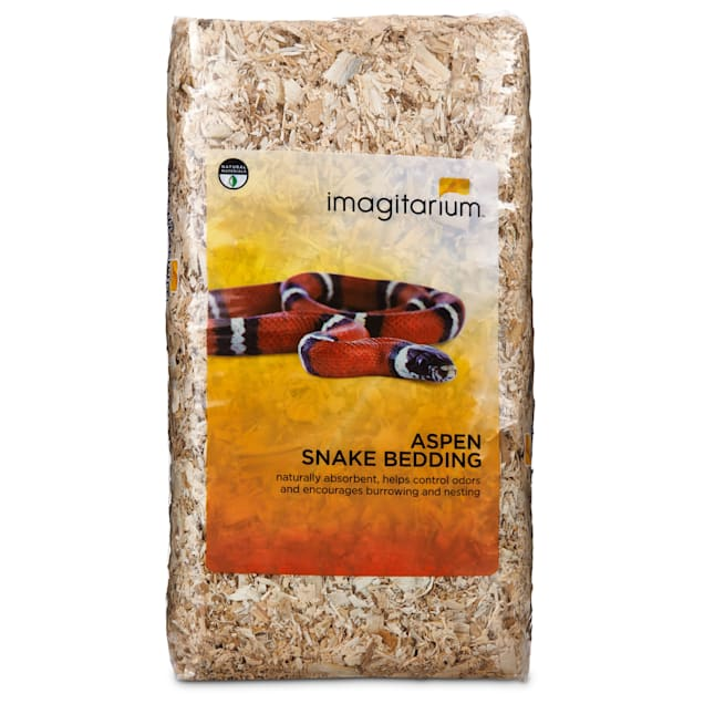 Imagitarium Aspen Snake Bedding, 500 cu. in. - Carousel image #1