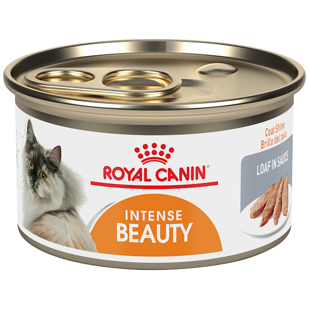Royal Canin Intense Beauty Loaf In Sauce Wet Cat Food for Skin & Coat, 3 oz. - Carousel image #1