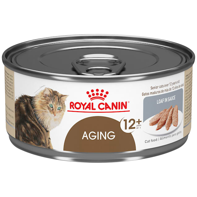 Royal Canin Aging 12+ Loaf in Sauce Wet Cat Food, 5.8 oz., Case of 24 - Carousel image #1