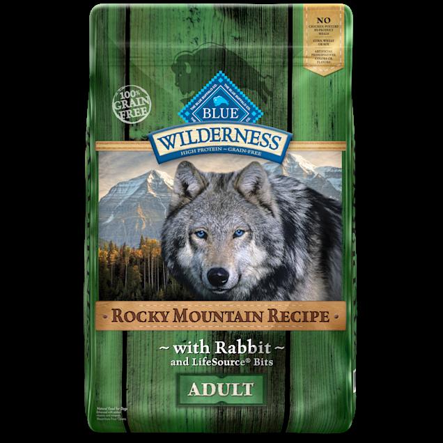 Blue Buffalo Blue Wilderness Rocky Mountain Recipe Rabbit Adult Dog Food, 22 lbs. - Carousel image #1