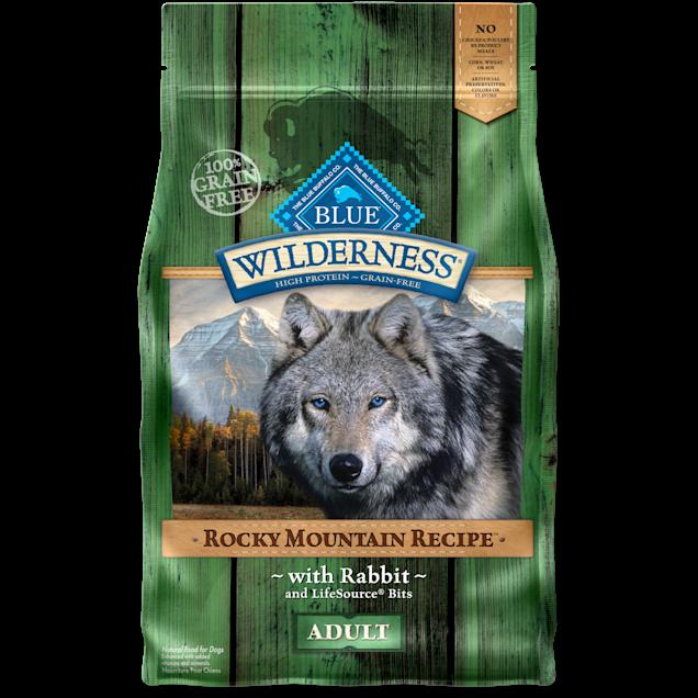 Blue Buffalo Blue Wilderness Rocky Mountain Recipe Rabbit Adult Dog Food, 4 lbs. - Carousel image #1
