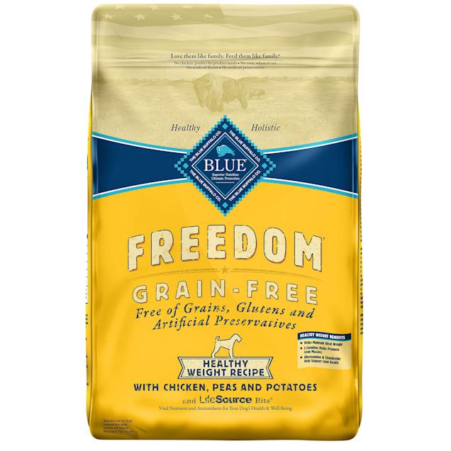 Blue Buffalo Blue Freedom Grain Free Healthy Weight Chicken Recipe Dog Food, 24 lbs. - Carousel image #1