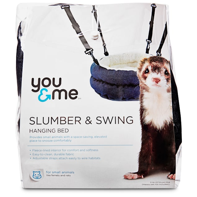 You & Me Slumber and Swing Plush Bed For Ferrets - Carousel image #1
