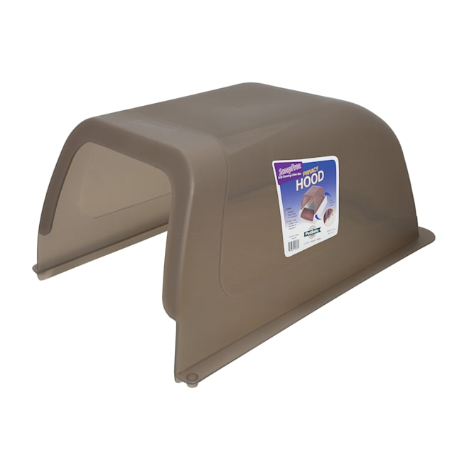 ScoopFree by PetSafe Privacy Hood Taupe - Carousel image #1