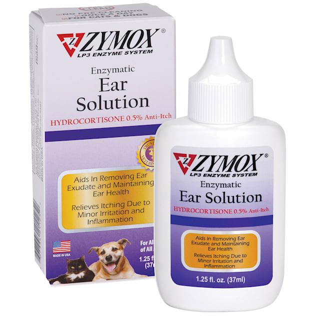 Zymox Ear Solution with .5% Hydrocortisone, 1.25 fl. oz. - Carousel image #1