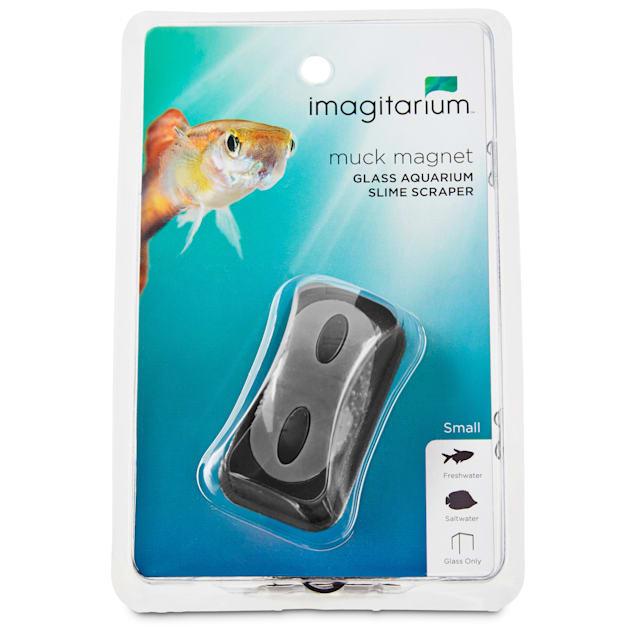 Imagitarium Small Muck Magnet Glass Aquarium Scraper - Carousel image #1