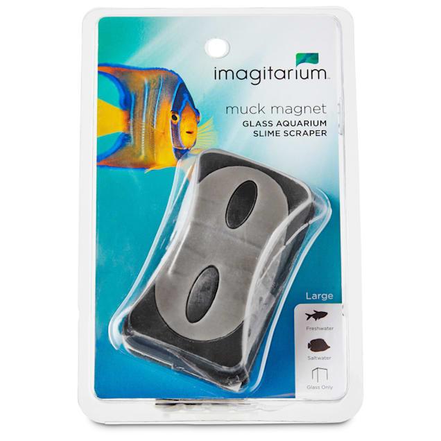 Imagitarium Large Muck Magnet Glass Aquarium Scraper - Carousel image #1