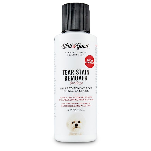Well & Good Dog Tear Stain Remover, 4 fl. oz. - Carousel image #1