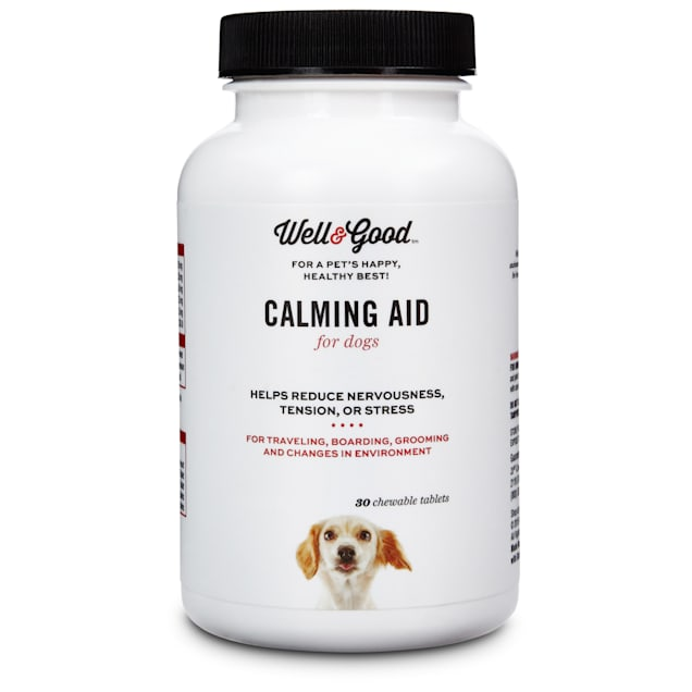 Well & Good Calming Aid Dog Tablets, 30 count - Carousel image #1