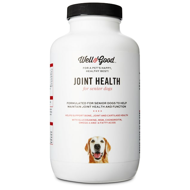 Well & Good Senior Stage Joint Support Dog Tablets, 90 tablets - Carousel image #1