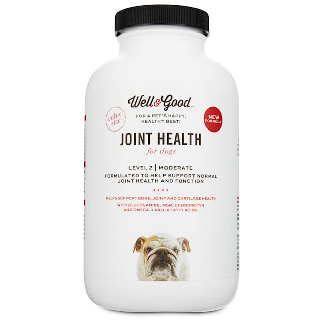 Well & Good Joint Support II Dog Tablets, 120 count - Carousel image #1
