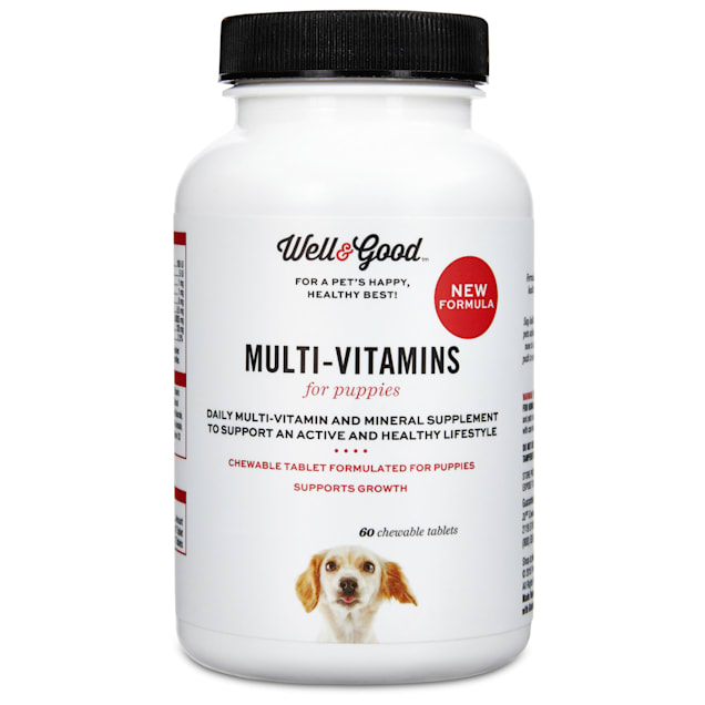 Well & Good Puppy Stage Vitamins, 60 count - Carousel image #1