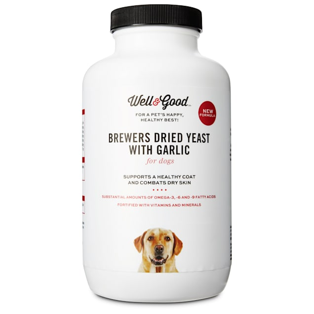 Well & Good Brewer's Yeast & Garlic Tablets, 1000 tablets - Carousel image #1