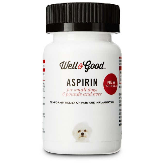 Well & Good Buffered Dog Aspirin, 75 tablets, For Small Dogs - Carousel image #1