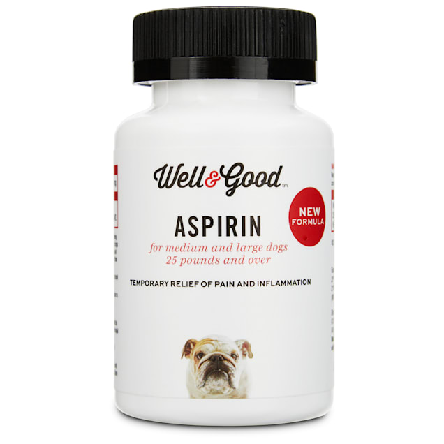 Well & Good Dog Aspirin, 75 tablets, For Large Dogs - Carousel image #1