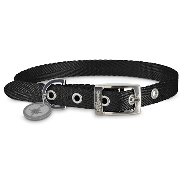 Good2Go Adjustable Black Nylon Buckle Dog Collar, Large - Carousel image #1