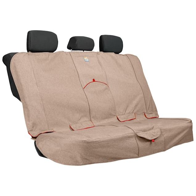 Kurgo Heather Bench Tan Dog Car Seat Cover - Carousel image #1