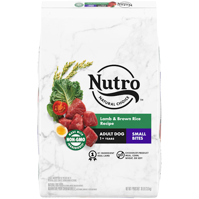 Nutro Natural Choice Lamb & Brown Rice Recipe Small Bites Adult Dry Dog Food, 30 lbs. - Carousel image #1
