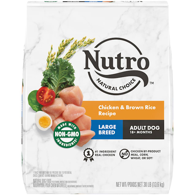 Nutro Natural Choice Chicken & Brown Rice Recipe Large Breed Adult Dry Dog Food, 30 lbs. - Carousel image #1