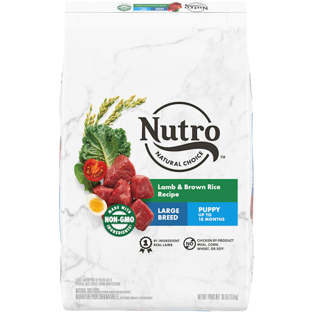 Nutro Natural Choice Lamb & Brown Rice Recipe Large Breed Puppy Dry Dog Food, 30 lbs. - Carousel image #1