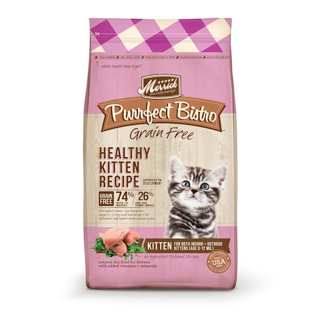 Merrick Purrfect Bistro Grain Free Healthy Kitten Dry Food, 7 lbs. - Carousel image #1