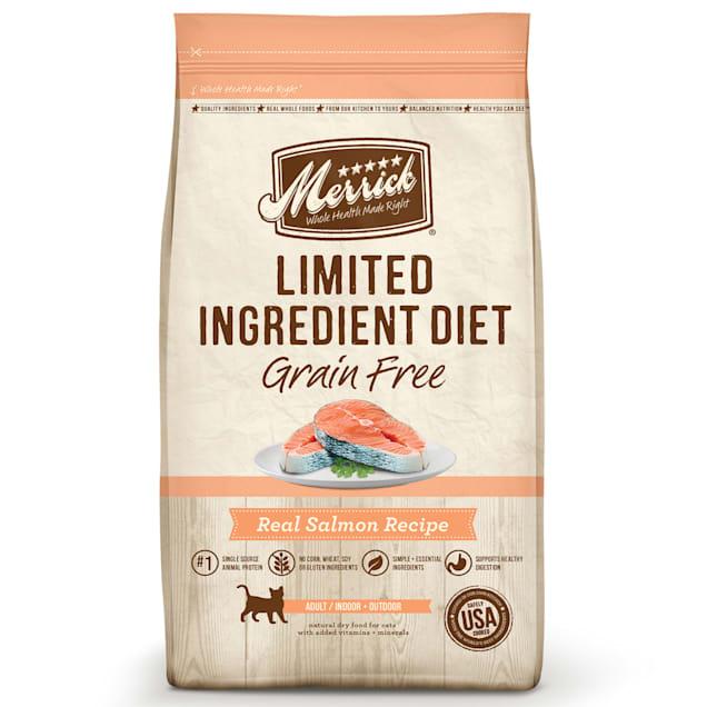 Merrick Limited Ingredient Diet Grain Free Salmon Dry Cat Food, 12 lbs. - Carousel image #1