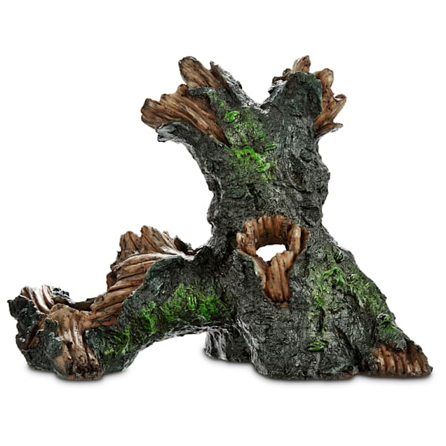 Imagitarium Large Tree Log Aquatic Decor - Carousel image #1