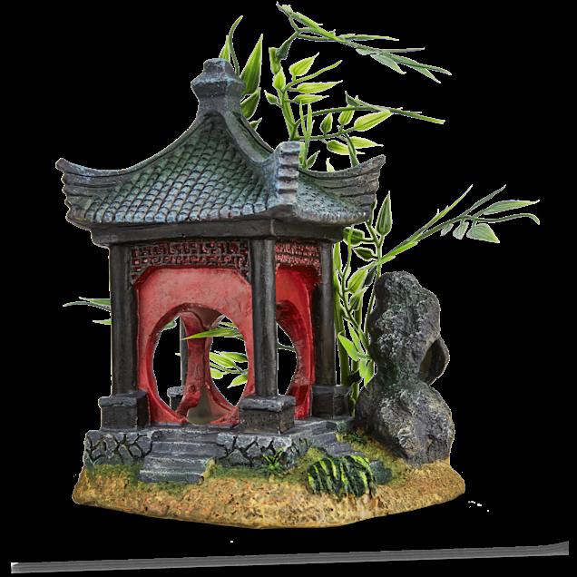 Imagitarium Asian Gazebo with Bamboo Ornament - Carousel image #1